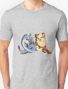 Arcanine + Dragonair Unisex T-Shirt