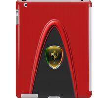 Scudetto Red ~ Ferrari lover iPad Case/Skin