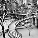The Snow-Covered Stairway by James Watkins