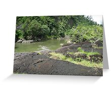 Tully River Rapids 2 Greeting Card