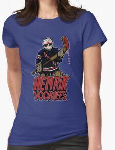 Henrik Voorhees...killin' it in goal Womens Fitted T-Shirt