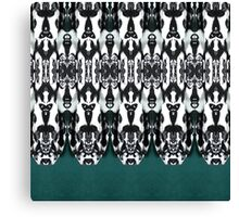Tribal Feathers Canvas Print