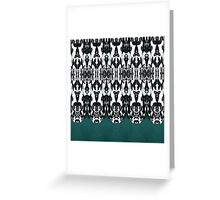 Tribal Feathers Greeting Card