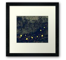 Fish in troubled water Framed Print