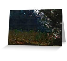 Blue Night in the Field Greeting Card