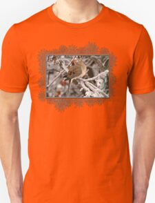 Mourning Dove in the Ice Storm Unisex T-Shirt