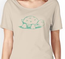 Smiling Turtle Women's Relaxed Fit T-Shirt