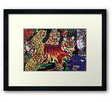 Tigers Forest Framed Print