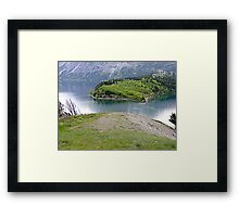 The Bosporus-Waterton Framed Print