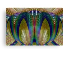 Salsify Abstract Canvas Print