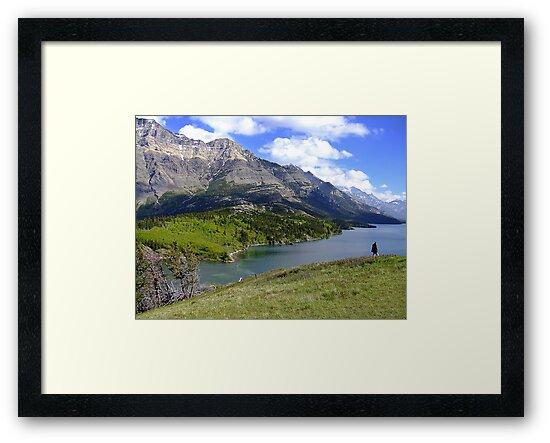 Bosporus and Upper Waterton Lake by George Cousins