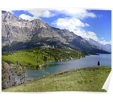 Bosporus and Upper Waterton Lake Poster