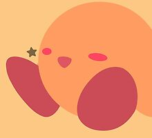 Kirby (Orange) - Super Smash Bros. by samaran