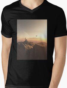 Desert Station Gamma Mens V-Neck T-Shirt