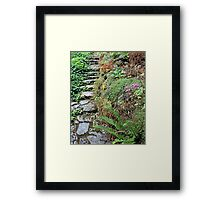 Just a Little Farther 30 Framed Print