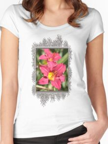 Daylily named Pardon Me Women's Fitted Scoop T-Shirt