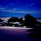 Beach by Night by Jason Scott