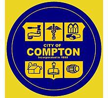 CITY OF COMPTON Photographic Print