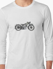 1935 Panther Motorcycle Long Sleeve T-Shirt
