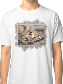 Black-Capped Chickadee After the Ice Storm Classic T-Shirt