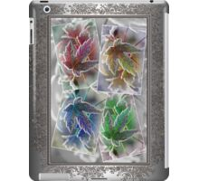 Frosted Maple Leaves in Pop Art Colours iPad Case/Skin