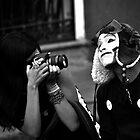 Mime Closeup II by Valerie Rosen