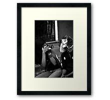 Mime Closeup II Framed Print