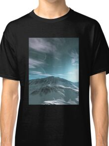 The Mountains of Sirius Beta Classic T-Shirt