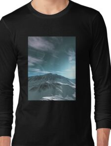 The Mountains of Sirius Beta Long Sleeve T-Shirt