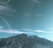 The Mountains of Sirius Beta Sticker