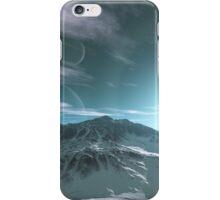 The Mountains of Sirius Beta iPhone Case/Skin