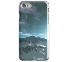 The Mountains of Sirius Beta iPhone Case/Skin