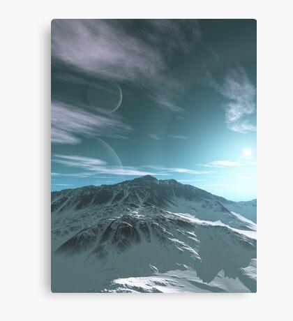 The Mountains of Sirius Beta Canvas Print