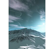 The Mountains of Sirius Beta Photographic Print
