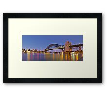 Ship's Arrival Framed Print