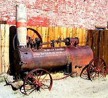 """Steam Tractor""  Virginia City, Nevada USA by waddleudo"