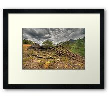The Weak Will Fall - Glen Davis, Capertee Valley - The HDR Experience Framed Print