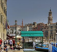 Grand Canal from Riva del Vin by Tom Gomez