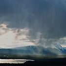 Valley Cloudburst  by Ted Widen
