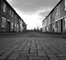 Derelict Estate Manchester by petebreezy