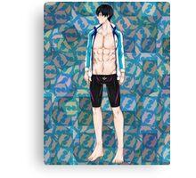 Free Iwatobi Swim Club Haruka Nanase Canvas Print