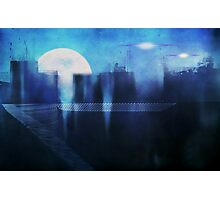 Bluetropolis Photographic Print