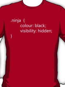 Teevolution :: HTML Ninja Code T-Shirt