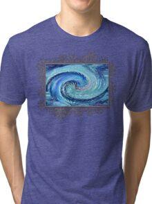 Spot of Gold Minus 125 Abstract Tri-blend T-Shirt