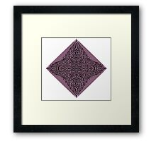 Mirror Squiggle #1 Framed Print