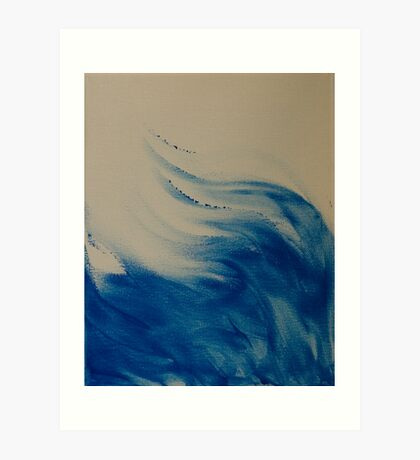 Breaking Waves Art Print