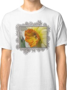 Small-Cupped Daffodil named Barrett Browning Classic T-Shirt