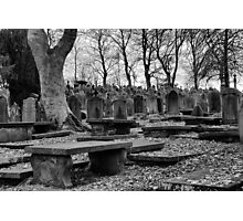 A Grave Experience Photographic Print