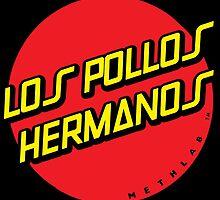 Los Pollos Hermanos Skateboards by j-ce-pink