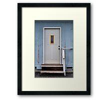 Nice Door Framed Print